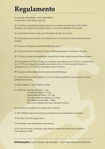 Liga 2015 Regulamentos